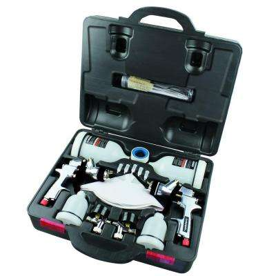HVLP and Standard Gravity Feed Spray Gun Kit