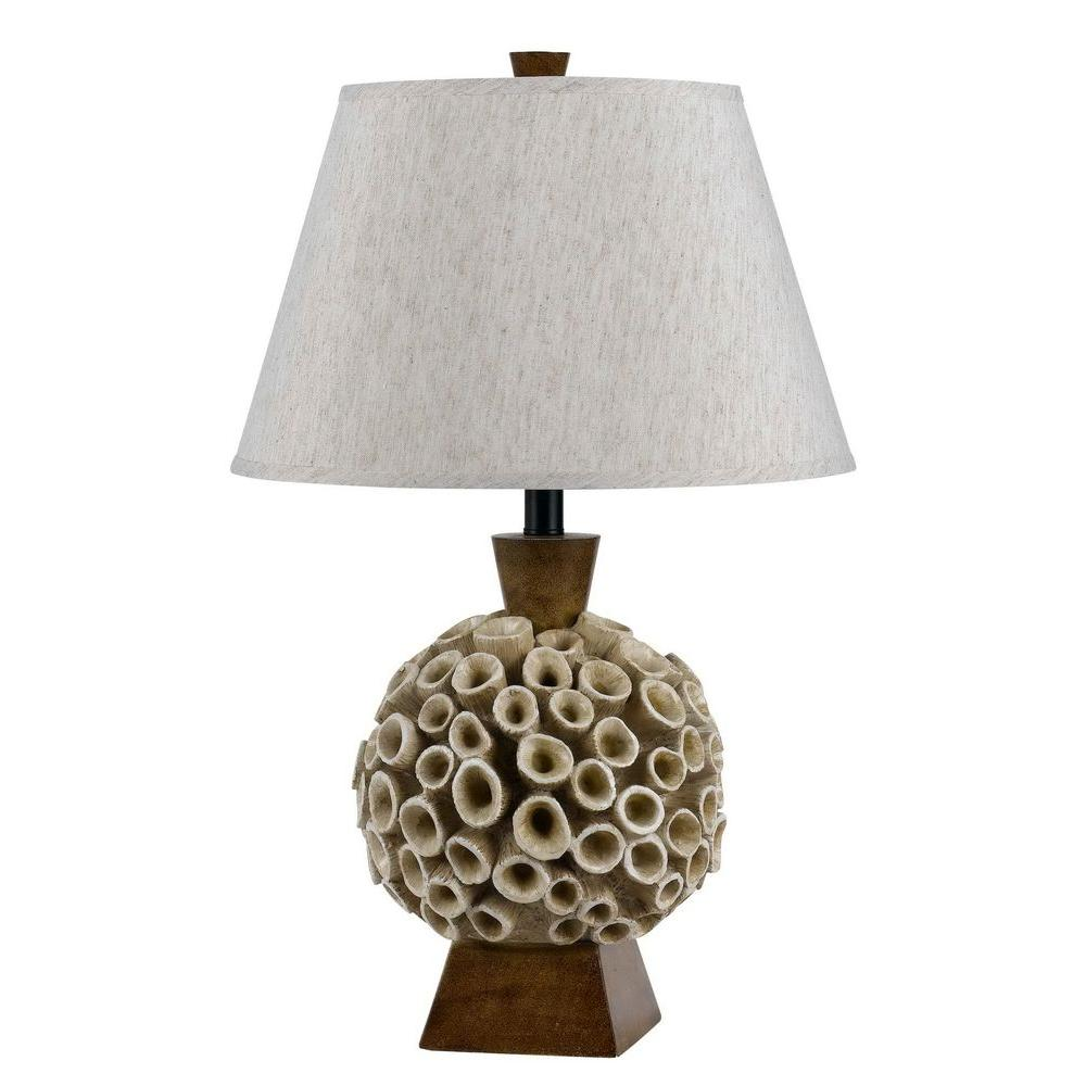 Rockwood Amber Coral Table Lamp