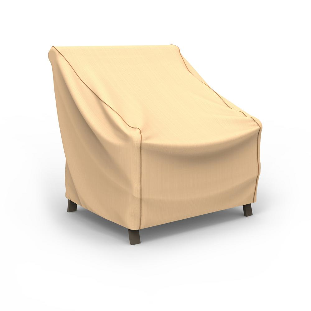 Budge Rust-Oleum NeverWet Medium Tan Outdoor Patio Chair Cover