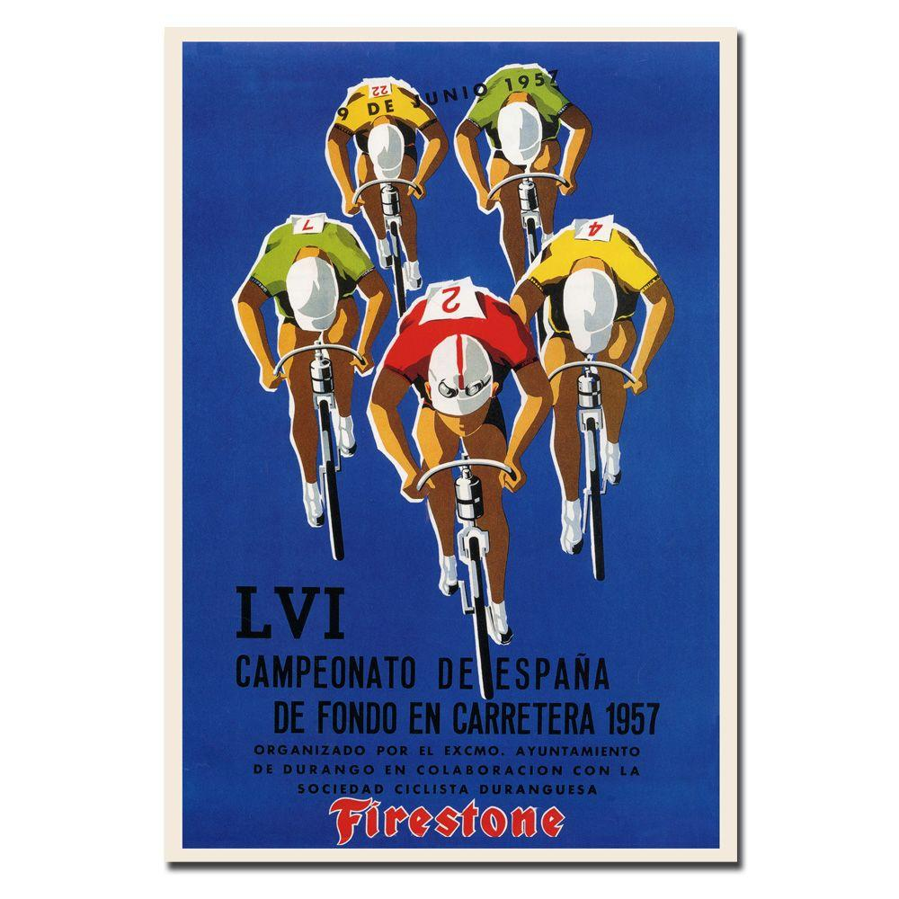19 in. x 14 in. Campeonato De Espana Canvas Art