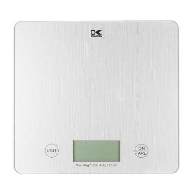 XL Digital Kitchen Scale in Silver