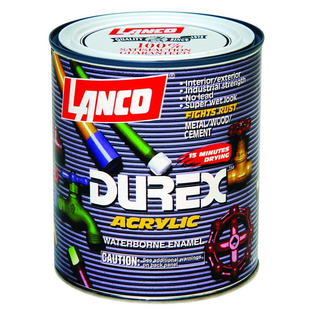 Durex 1 Qt. Acrylic White Interior/Exterior Paint