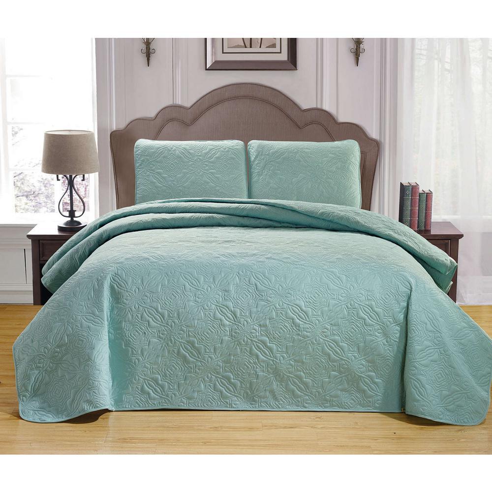 Duck River Leda Silver King Bedspread Set
