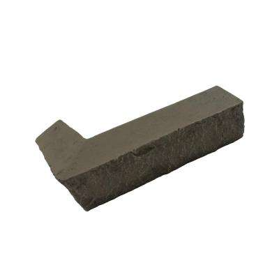 Stacked Stone 3-1/4 in. x 3-1/2 in. x 11-3/4 in. Keystone Faux Corner Ledger (2-Pack)