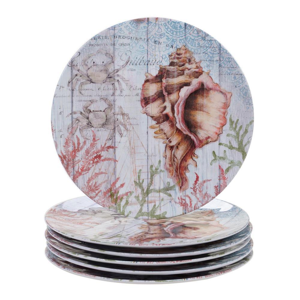 Certified International Sanibel Multicolor Dinner Plate (Set of 6) 24030SET6