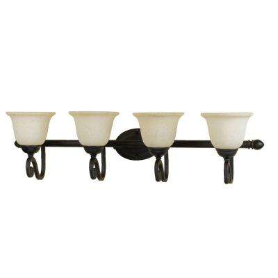 Harmony 4-Light Bronze Sconce