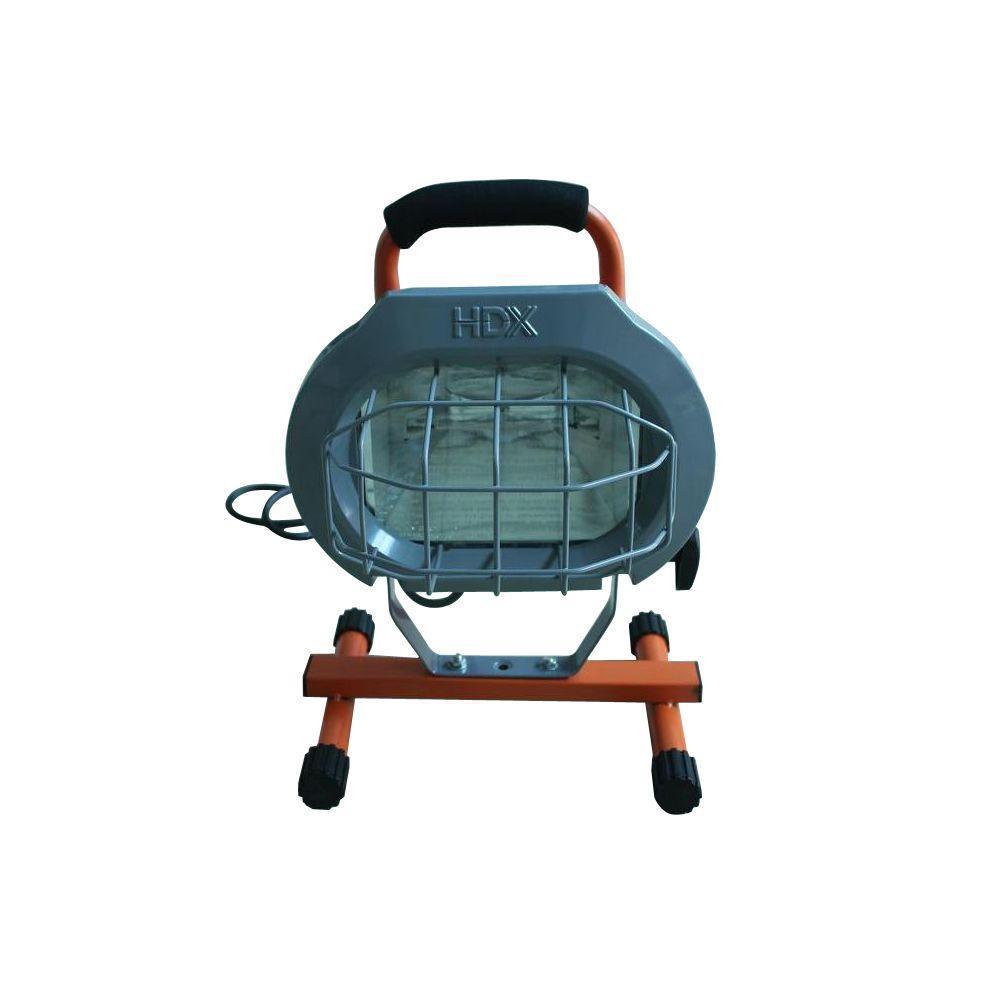 HDX 500-Watt Portable Halogen Work Light