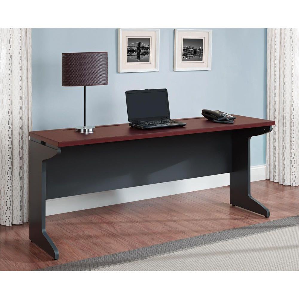 Altra Furniture Pursuit Cherry And Gray Desk-9800196