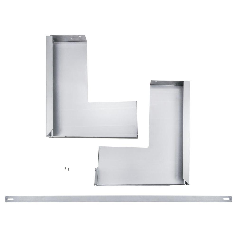 Over The Range Microwave Accessory Filler Kit In Stainless Steel