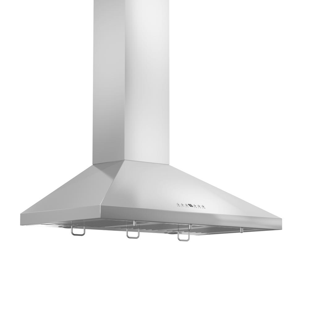 ZLINE 36 In. 760 CFM Wall Mount Range Hood In Stainless