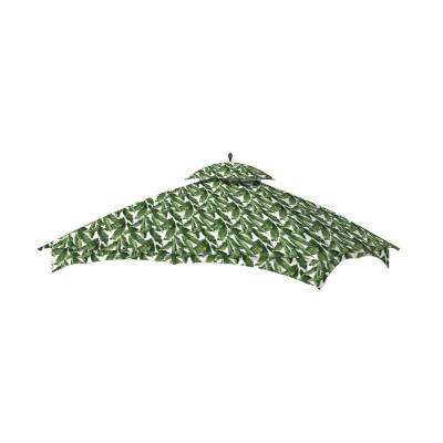 Standard 350 Palm Replacement Canopy Top Set for 10 ft. x 12 ft. Massillon Gazebo