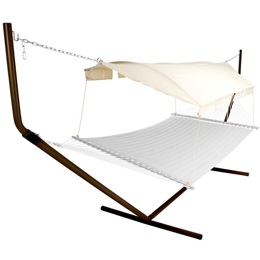 ip fabric hammock com garden trellis pawleys double duracord island walmart quilted large