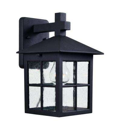 Greene 1-Light Black Outdoor Lantern