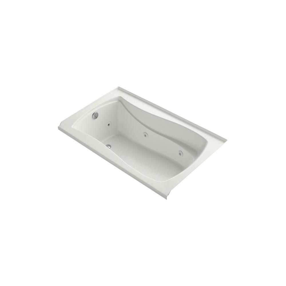 KOHLER Mariposa 5 Ft Air Bath Tub In Dune K 1239 LW NY