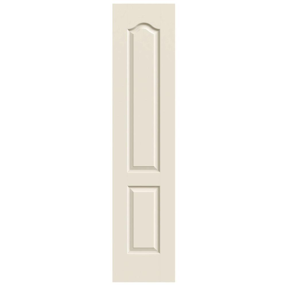 Jeld wen 18 in x 80 in princeton primed smooth solid for Mdf solid core interior doors