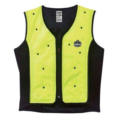 Chill-Its Unisex Large Lime Dry Evaporative Cooling Vest