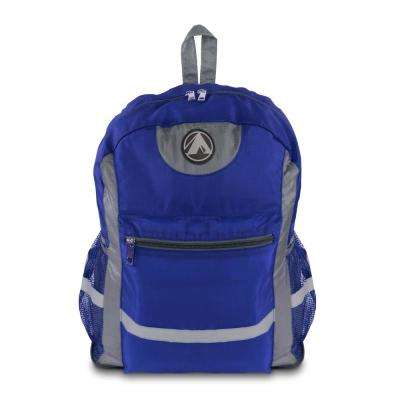 Light Weight Blue Foldable Backpack