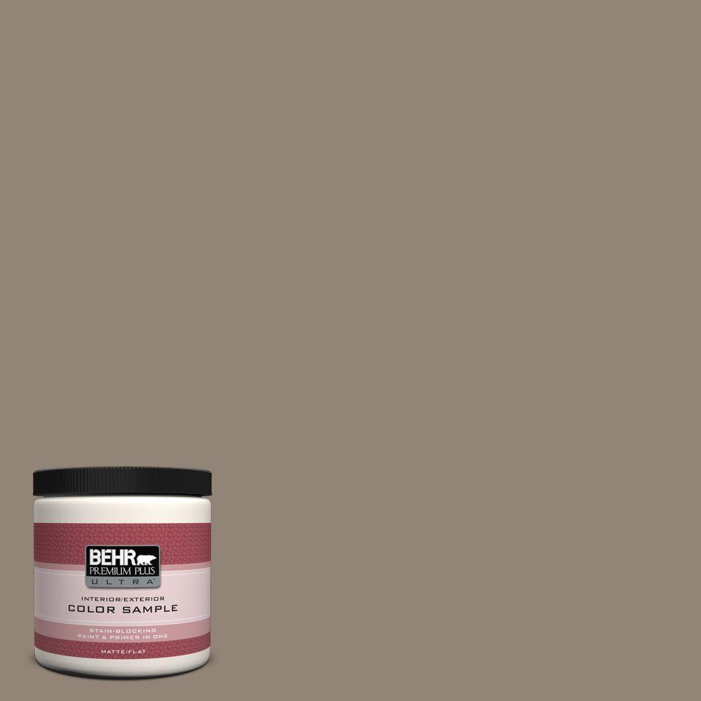 BEHR Premium Plus Ultra 8 oz. #N220-5 Ottertail Interior/Exterior Paint Sample