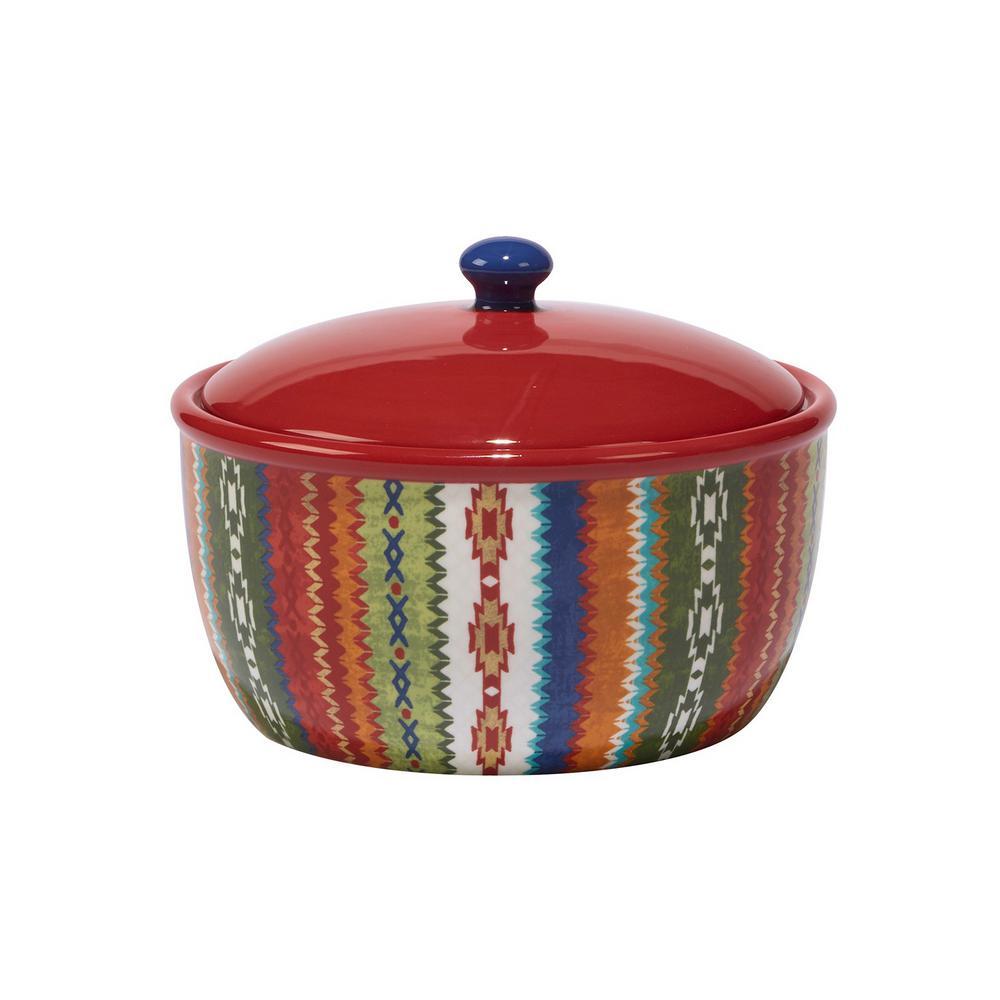 Monterrey 2.5 qt. Ceramic Bean Pot with Lid