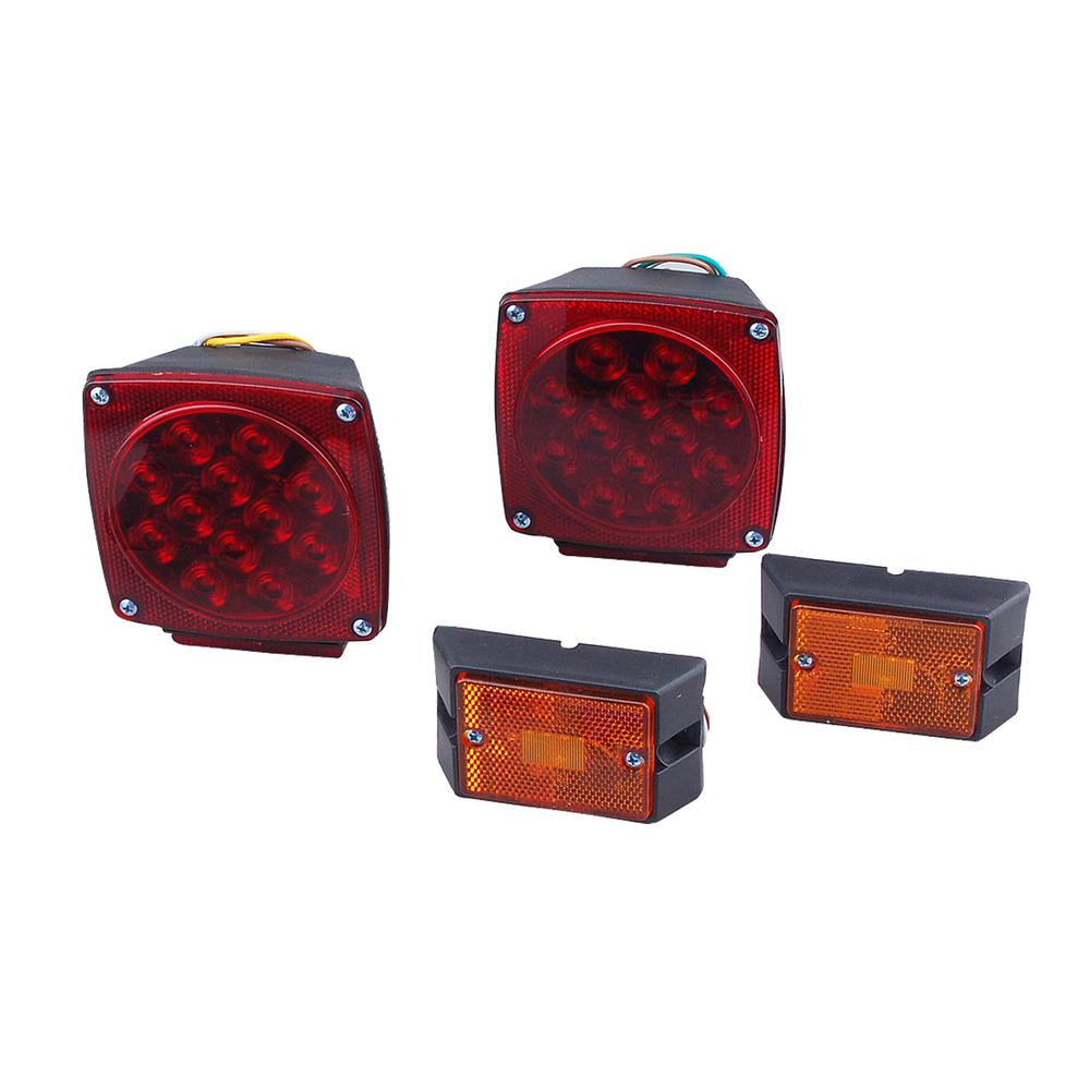 Max Load 12-Volt LED Trailer Light Kit