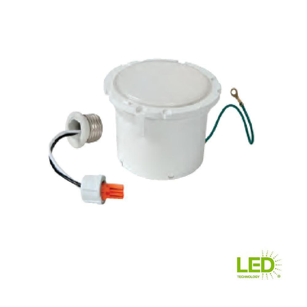 Halo ML 5 in. and 6 in. White Integrated LED Recessed Retrofit Downlight Module with 600 Lumens, 90 CRI, 3000K Soft White