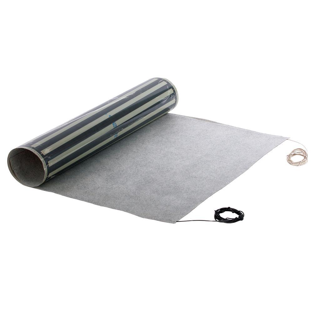 QuietWarmth 10 ft. x 18 inch x 0.03 inch 120-Volt Peel and Stick Radiant Heat... by QuietWarmth