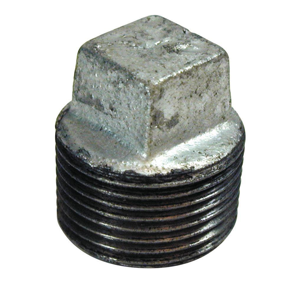 1 in. Galvanized Plug