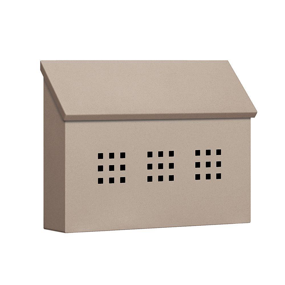 Salsbury Industries 4600 Series Beige Decorative Horizontal Traditional Mailbox