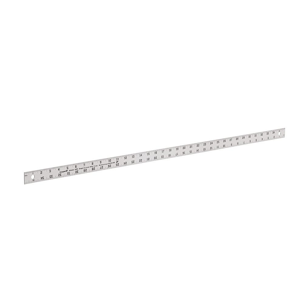 Empire 36 In Aluminum Straight Edge Ruler 403 The Home Depot