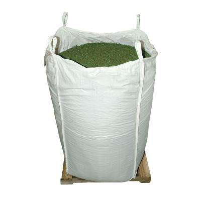 76.9 cu. ft. Green Rubber Mulch