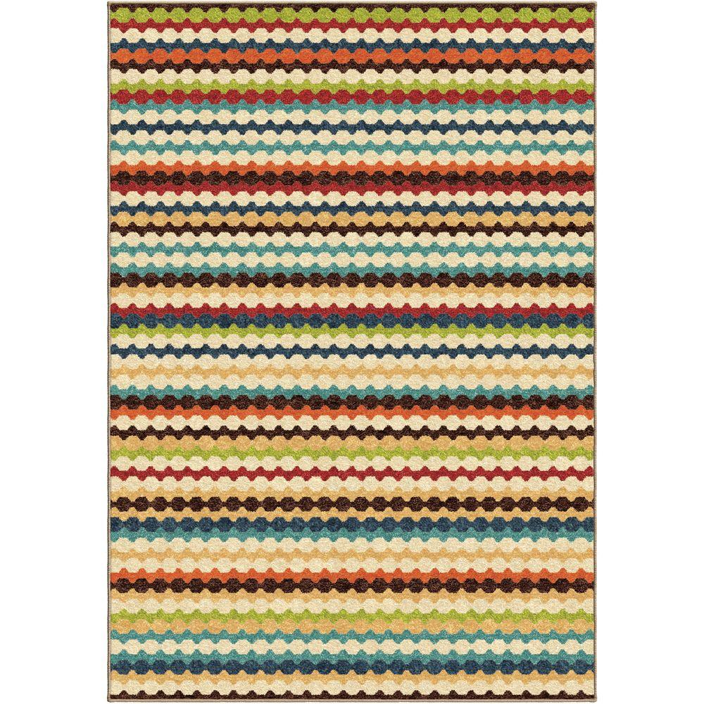 Orian Rugs Jumping Jack Ivory 2 ft. 6 in. x 3 ft. 9 in. Indoor Area Rug