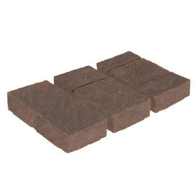 Domino 6 in. x 12 in. Sierra Blend Brown/Charcoal Concrete Paver (240 Pieces / 120 sq. ft. / Pallet)