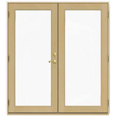 Wood - French Patio Door - Patio Doors - Exterior Doors - The Home Depot