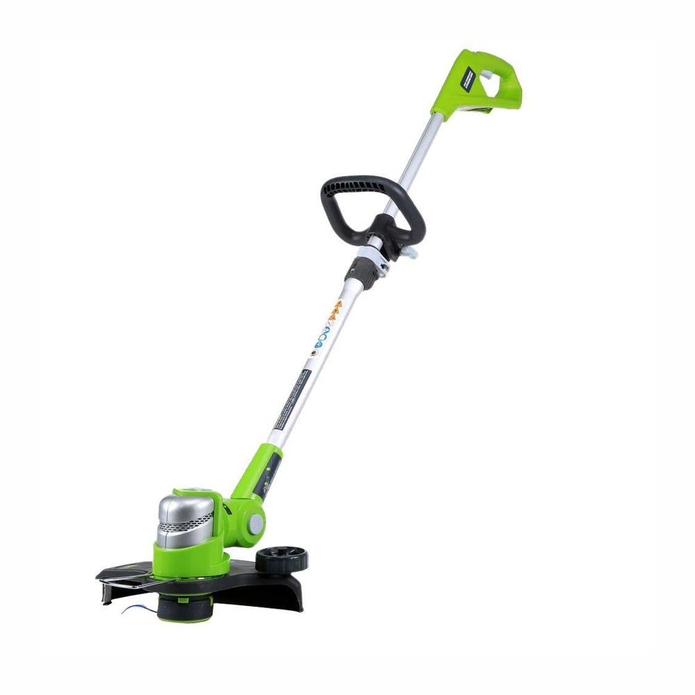 Greenworks G24 24-Volt Cordless String Trimmer - Battery and Charger Not  Included