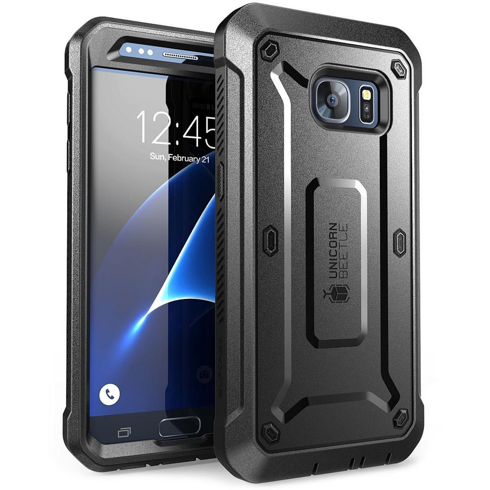 SUPCASE-Galaxy S7-Unicorn Beetle Pro Series Case and Holster-Black