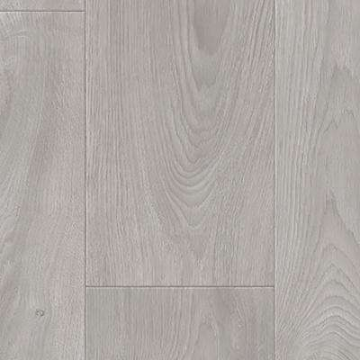 Medium Grey Oak 13.2 ft. Wide x Your Choice Length Residential Sheet Vinyl Flooring