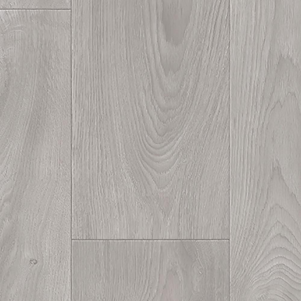 Medium Grey Oak Residential Vinyl Sheet