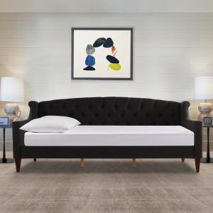 Jennifer Taylor Lucy Jet Black Sofa Bed 65000 978 The Home