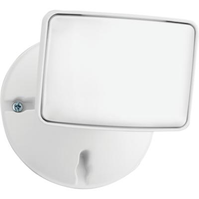 Contractor Select OVFL 75-Watt Equivalent White Outdoor Integrated LED 1-Square Head Flood Light