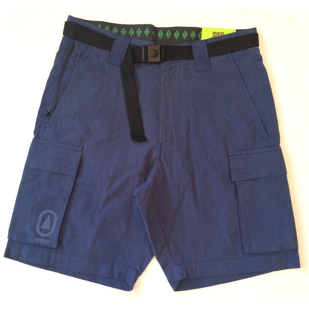 Technician Men's Cargo 32 in. Blue Short