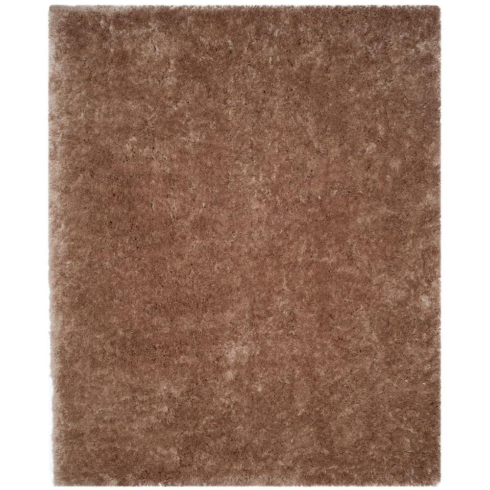 Safavieh Arctic Shag Taupe (Brown) 5 ft. x 7 ft. Area Rug