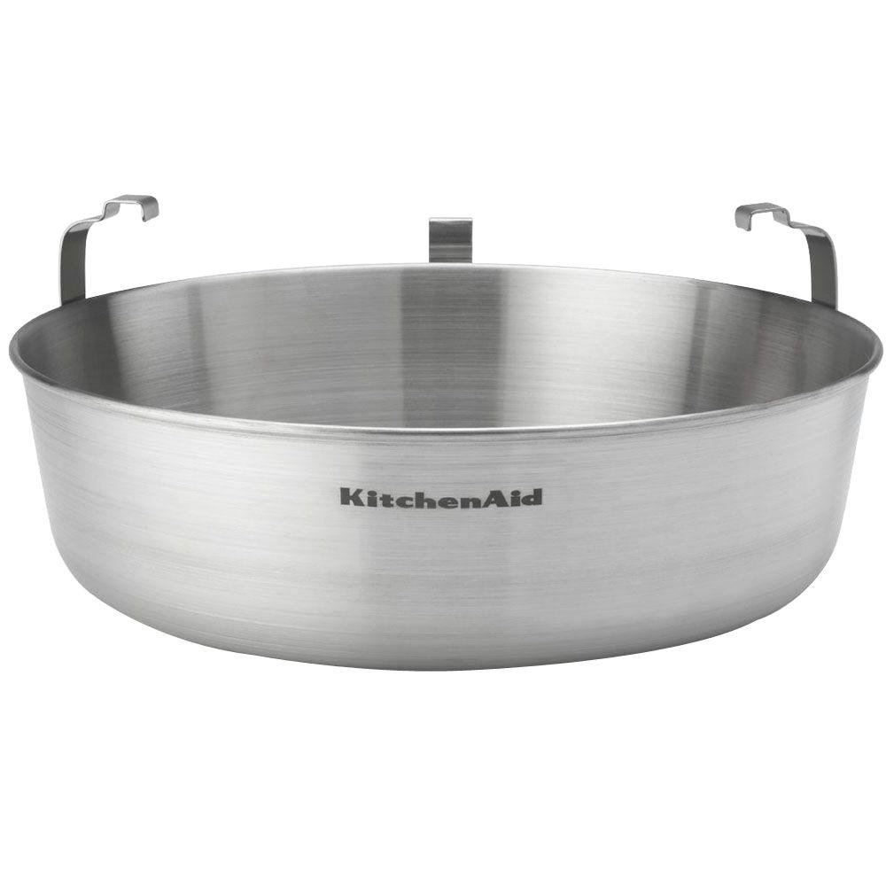 Kitchen Aid Stainless Steel Water-Jacket Accessory for Select Stand Mixers