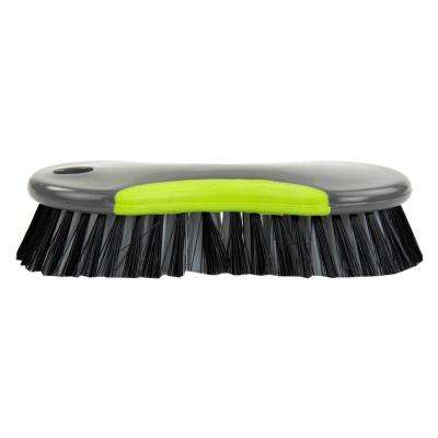 Brilliant Collection 2.5 in. Nylon Scrub Brush with Handle