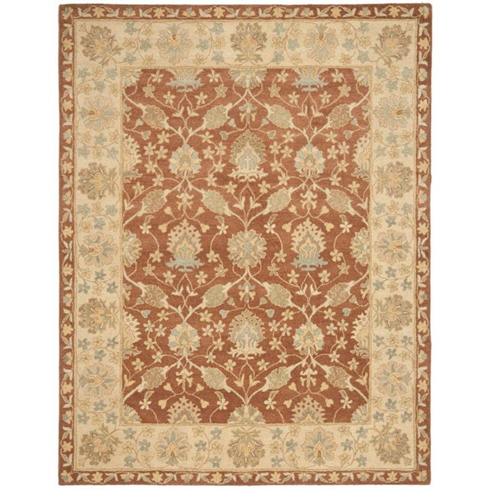 Safavieh Antiquity Brown/Taupe 7 ft. 6 in. x 9 ft. 6 in. Area Rug