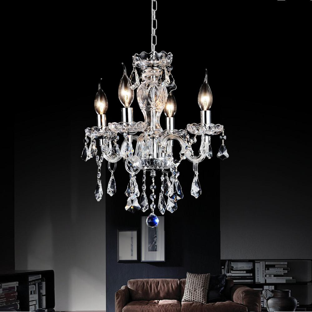 Princeton 4-Light Chrome Pendant