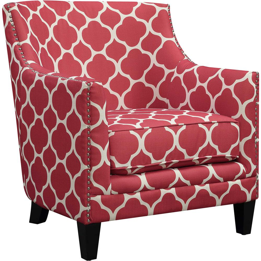 Impressive Red Accent Chair Design Ideas