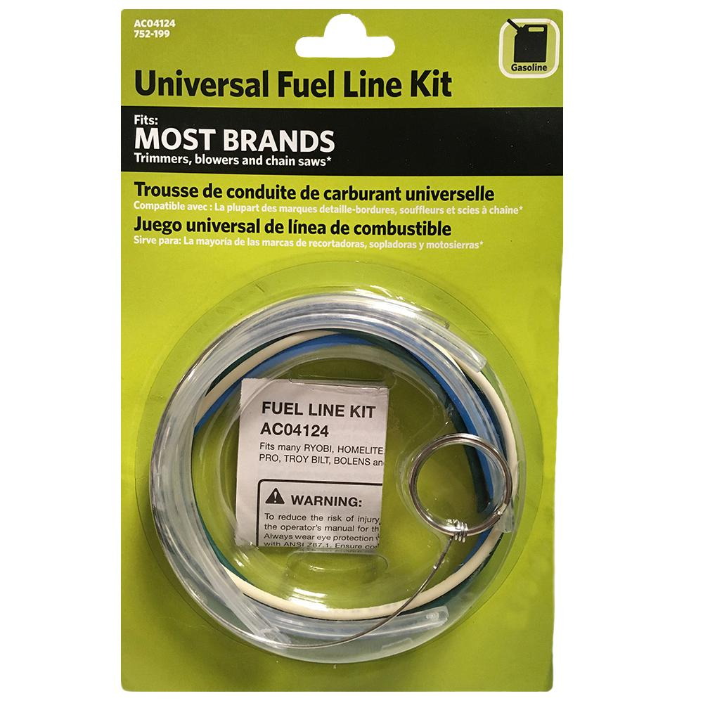 Universal Fuel Line Kit Ac04124 The Home Depot Homelite Generator Wiring Diagram Store Sku 752199