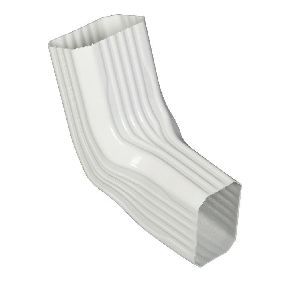 Amerimax Home Products 3 In X 4 In A B Transition Elbow