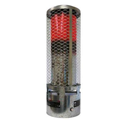 250k BTU Natural Gas Radiant Portable Heater