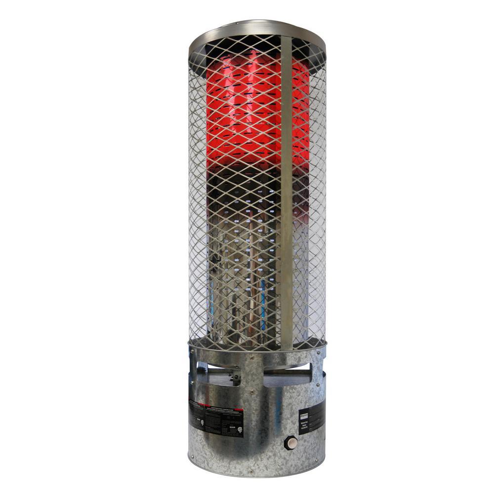 250K BTU Natural Gas Radiant Portable Heater